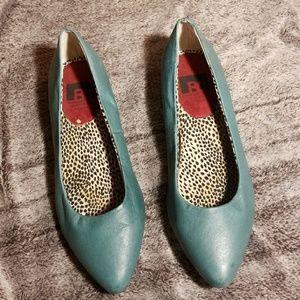 BC Footwear Teal Ballet flats